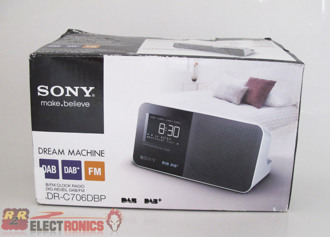 sony xdr c706dbp dab dab digital clock radio ebay. Black Bedroom Furniture Sets. Home Design Ideas